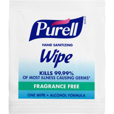 Purell Premoistened Sanitizing Hand Wipes White