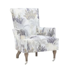 Linon Jasmine Arm Chair Rustic GrayBlue