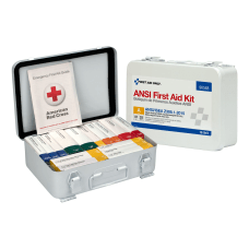 First Aid Only Metal Weatherproof First
