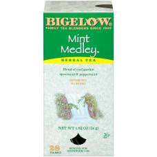 Bigelow Mint Medley Tea Bags Box