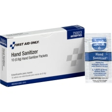 First Aid Only Hand Sanitizer 003