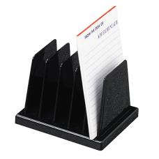 OIC Compact Desk Sorter Black