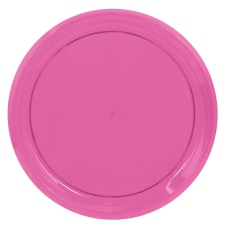 Amscan Round Plastic Platters 16 Bright