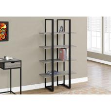 Monarch Specialties 4 Shelf Metal Bookcase