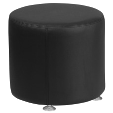 Flash Furniture Hercules Alon Ottoman Black