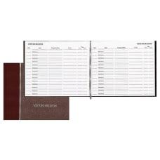 Avery Hardcover Visitor Register 10 12