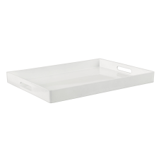 Amscan Rectangular Plastic Serving Tray With