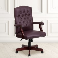 Flash Furniture Martha Washington Bonded LeatherSoft