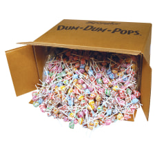 Assorted Lollipops Dum Dums Carton Of