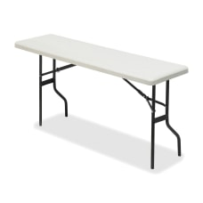 Iceberg Resin Folding Table 72 W