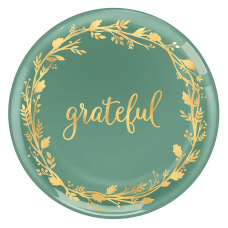 Amscan Fall Grateful Coupe Platters 14