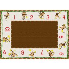 Flagship Carpets Cushy Tushy Monkeys Carpet