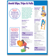 ComplyRight Avoid SlipsTrips And Falls Poster