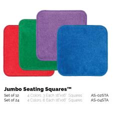 Flagship Carpets Jumbo Seating Squares 16