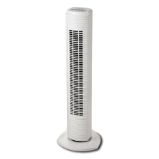 Holmes Oscillating Tower Fan White