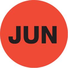 Tape Logic Red JUN Months of