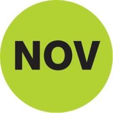 Tape Logic Green NOV Months of