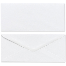 Mead Plain White Envelopes Business 10