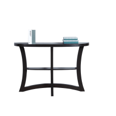 Monarch Specialties Console Table Two Tier