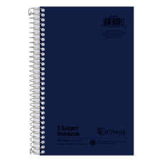 Oxford 3 subject Small Wirebound Notebook