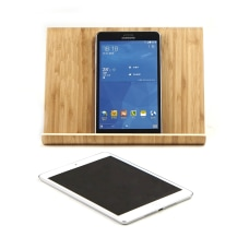 Mind Reader Portable Bamboo PhoneTablet Stand