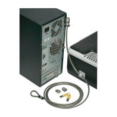 SKILCRAFT Computer Lock Down Kit Gray