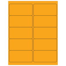 Office Depot Brand Labels LL178OR Rectangle