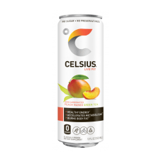 Celsius Fitness Drinks Peach Mango Green