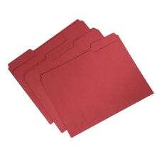 SKILCRAFT Single Ply Top File Folders