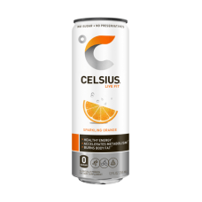 Celsius Sparkling Fitness Drinks Orange 12