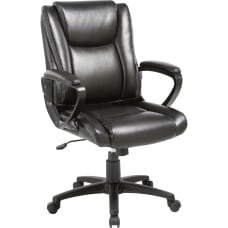 Lorell SOHO Bonded Leather High Back