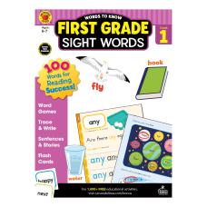 Brighter Child Words To Know Workbook
