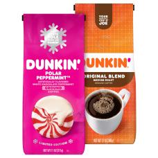 Dunkin Donuts Coffee Bundle 12 Oz