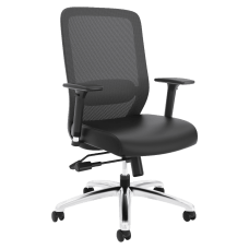 HON Exposure MeshBonded Leather High Back