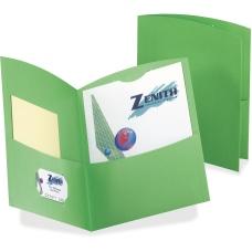 TOPS Contour Letter Recycled Pocket Folder