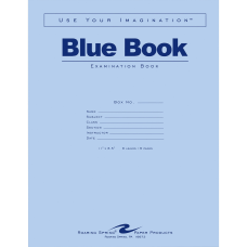 Roaring Spring Wide Ruled Examination Book