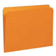 Smead File Folders Letter Size Straight