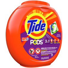 Tide 3 In 1 Pods Laundry