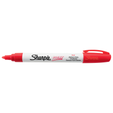 Sharpie Paint Marker Bullet Point Red