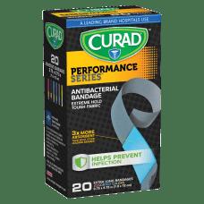 CURAD Performance Antibacterial Adhesive Bandages 34