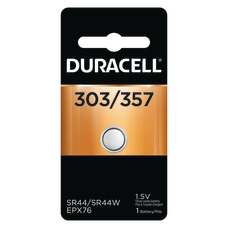 Duracell Silver Oxide 303357 Button Battery