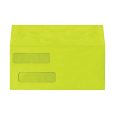 LUX Double Window Invoice Envelopes With