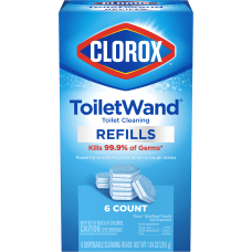 Clorox ToiletWand Disinfecting Refills Carton Of