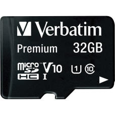 Verbatim 32GB Premium microSDHC Memory Card