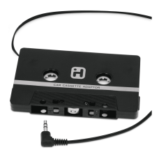 iHome 35MM Cassette Adapter Black