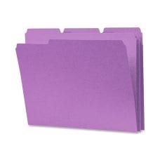 Smead 13 Cut Color Top Tab