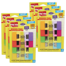 Clip rite Binder Tabs Small Assorted