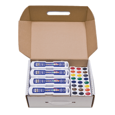 Prang Semi Moist Watercolor Master Set