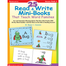 Scholastic 25 Read Write Mini Books