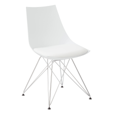 Ave Six Eiffel Bistro Chairs WhiteChrome